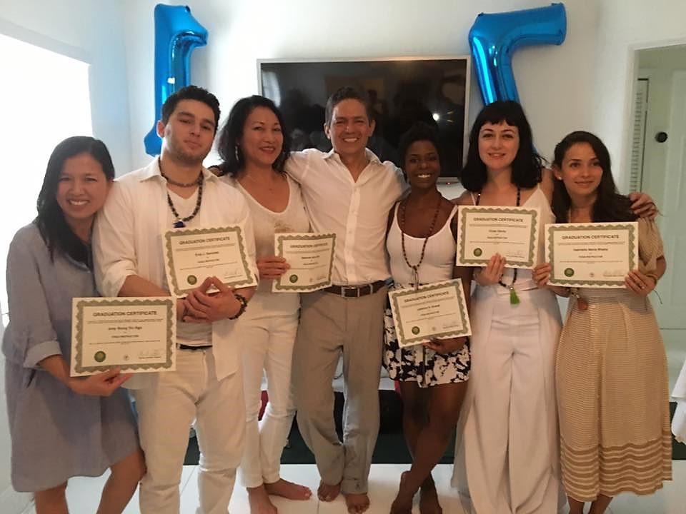 URENERGY YOGA RYS200 Teacher Training Graduates - April 2017
